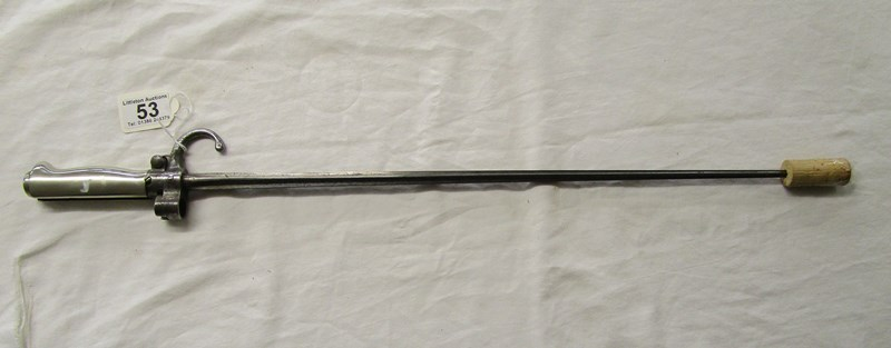 Lot 53 - French M1886 Lebel bayonet - Rosalle