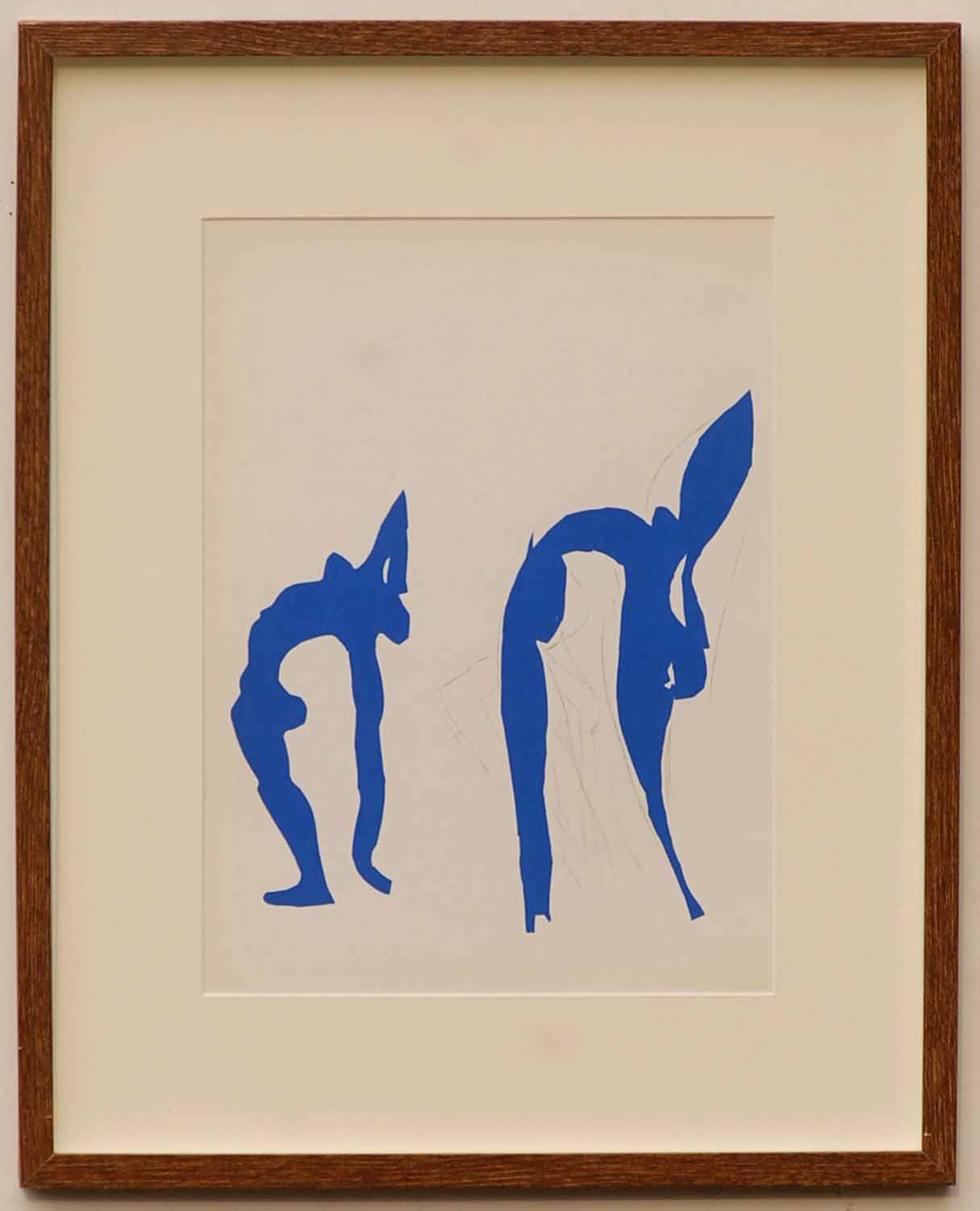 Lot 115 - HENRI MATISSE 'Acrobates', original lithograph from the 1954 edition after Matisse's cut-outs,