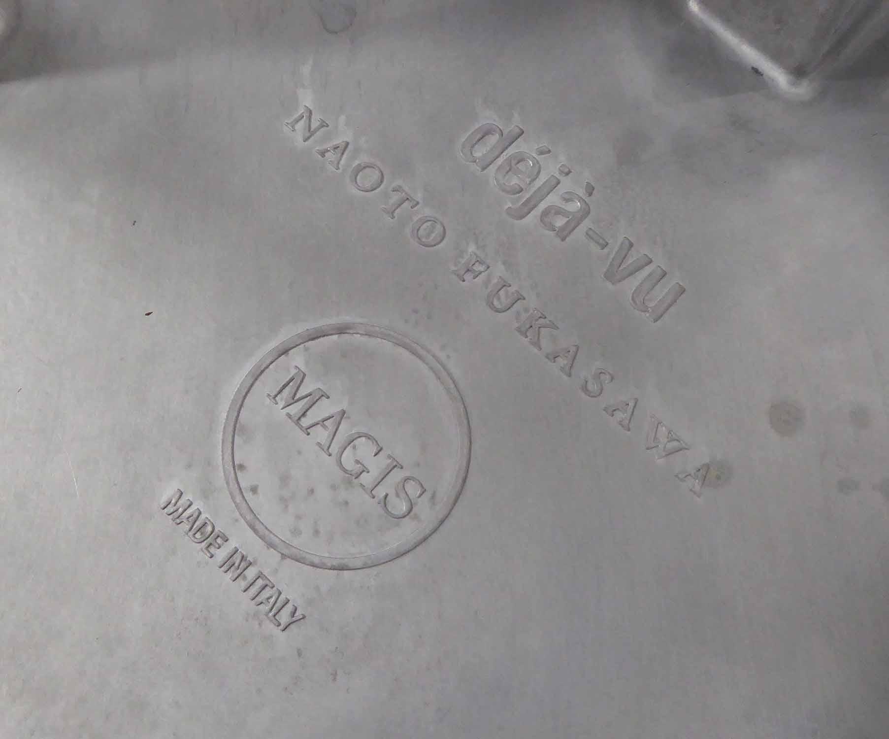 Lot 27 - BAR STOOLS, a set of four, aluminium 'Desta Vu' by Naoto Fukasawa, each 78cm H, by Magis Italy.