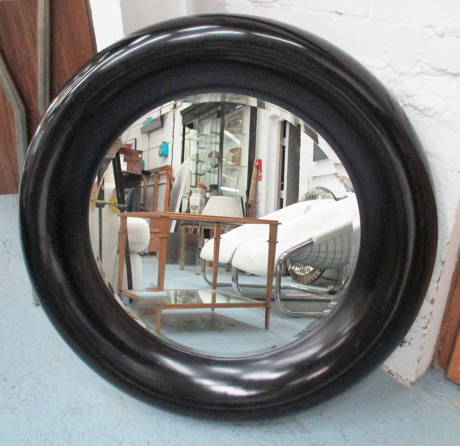 Lot 57 - INDIA JANE WALL MIRROR, colonial inspired design, 85cm Diam.