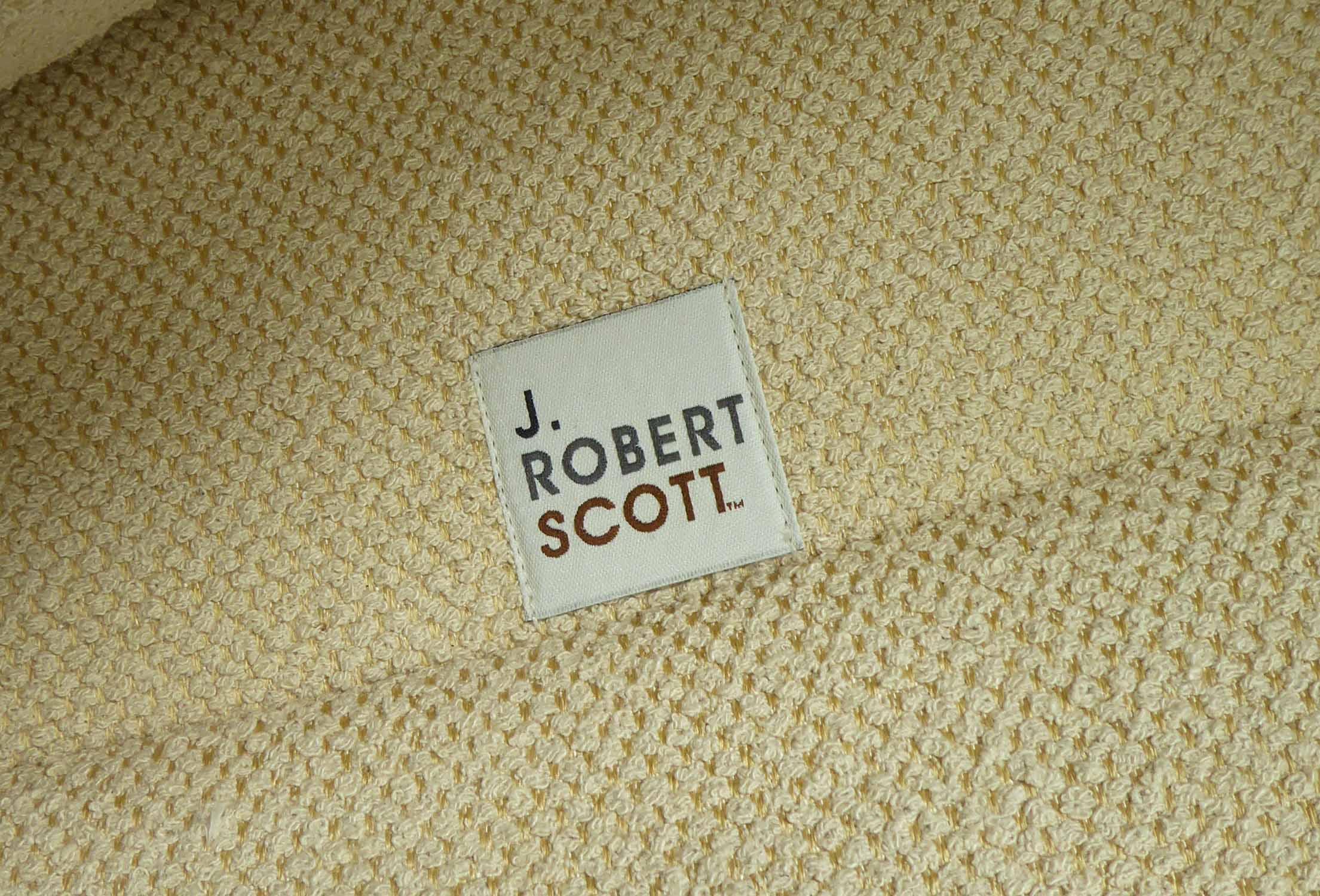 Lot 30 - J ROBERT SCOTT VICE VERSA LOUNGE CHAIRS, a pair, by Sally Sirkin Lewis, 87cm x 87cm x 78cm.
