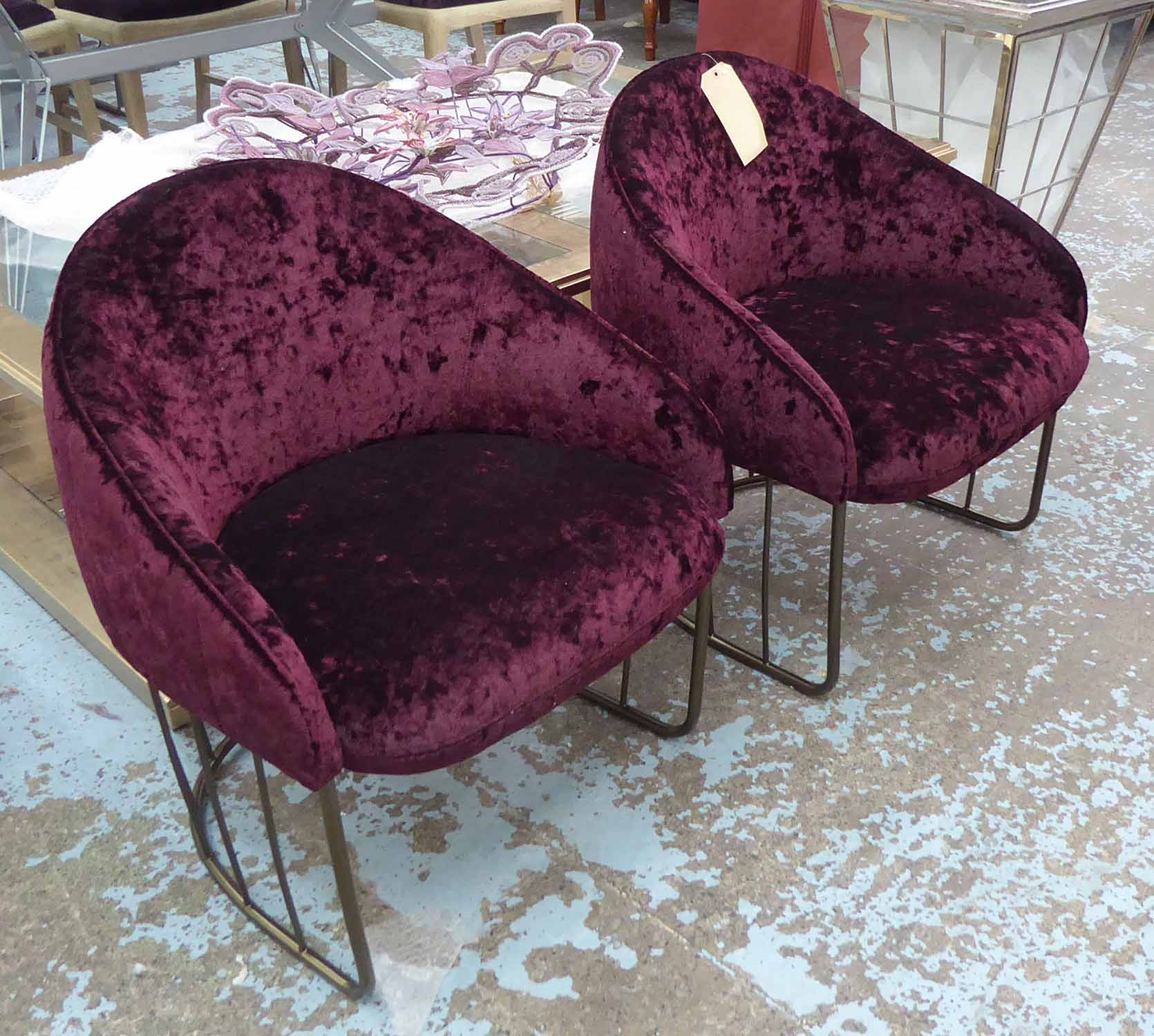 Lot 46 - SANCAL TONELLA CHAIRS, a pair, by Note, 71cm H.