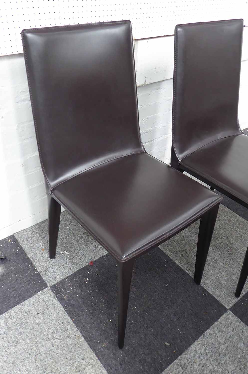 Lot 27 - FRAG LATINA P CHAIRS, a set of five, by G.ER. Fauciglietti, 95cm H.