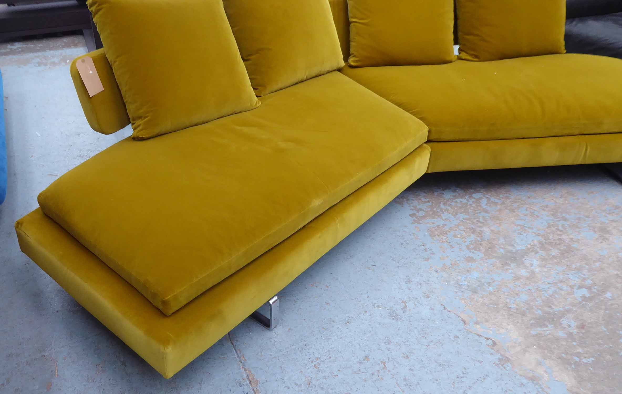 Lot 11 - B&B ITALIA ARNE SOFA by Antonio Citterio, 300cm W.