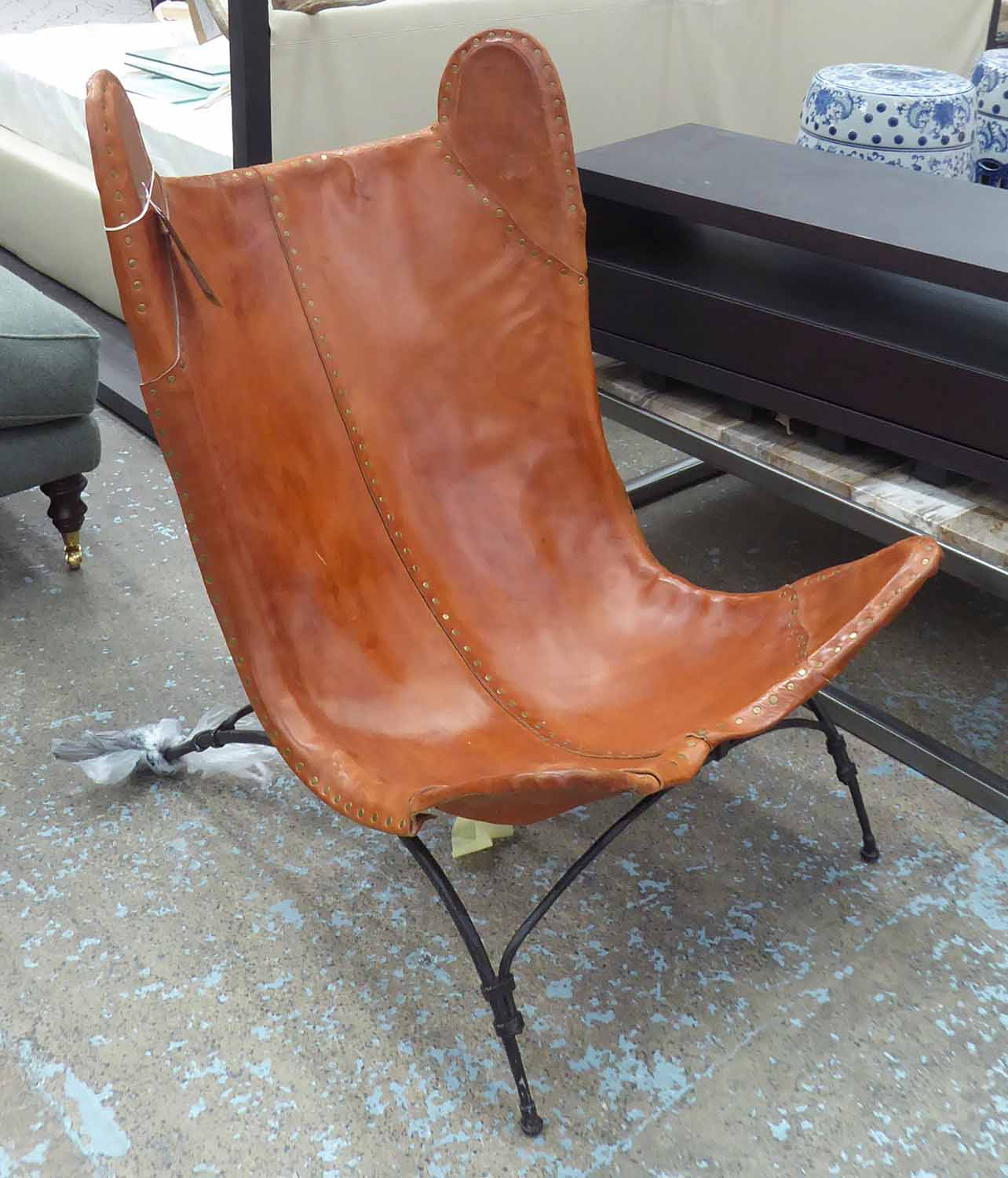 Lot 41 - RALPH LAUREN HOME NEW SAFARI CAMP CHAIR, (can retail in excess of £7500), 102cm H.
