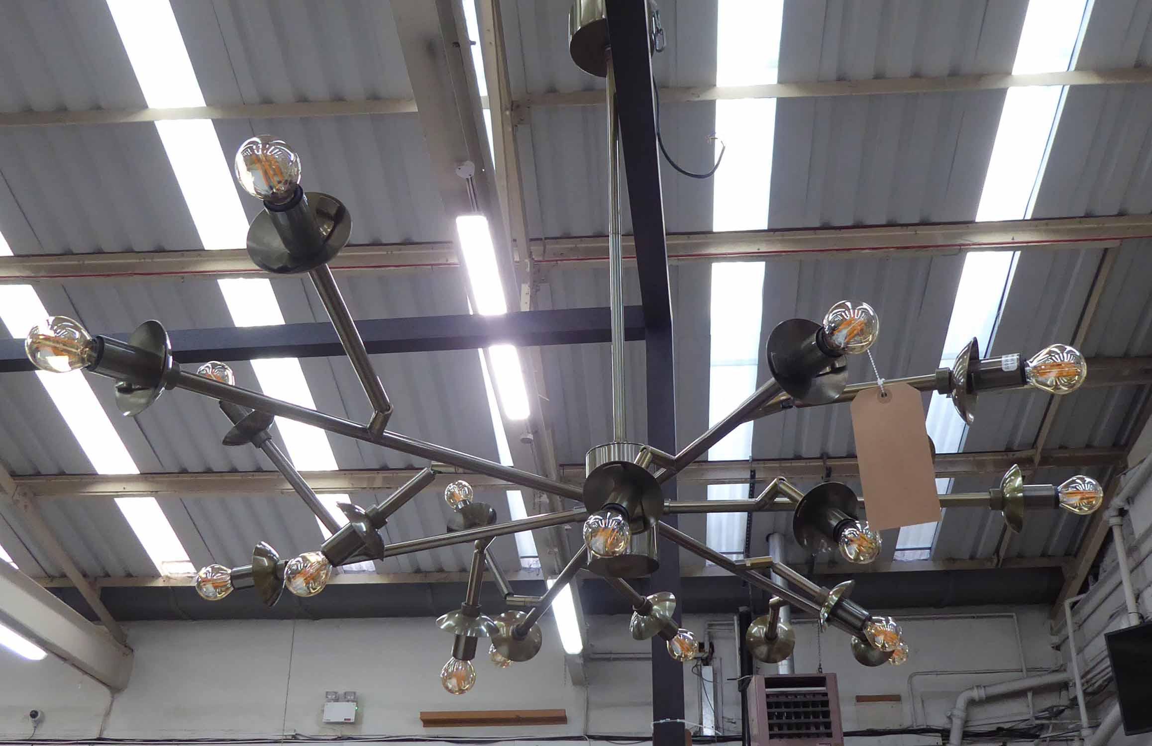 Lot 56 - ARTERIORS LIGHTING PALACE CHANDELIER, (retails in excess of £3000), 86cm Drop.