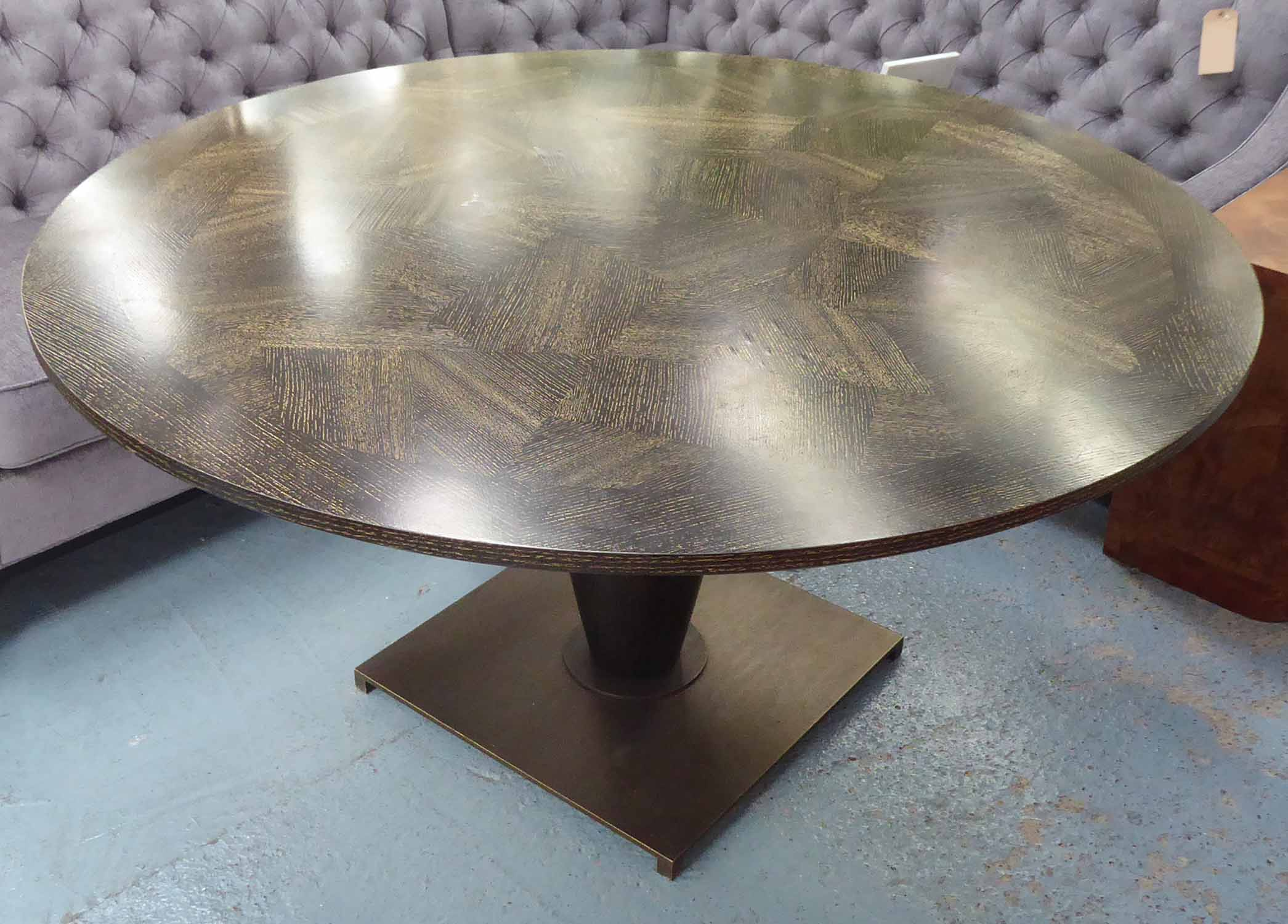 Lot 52 - ATTRIBUTED TO ROMEO SOZZI BASSANO TABLE, 150cm diam.