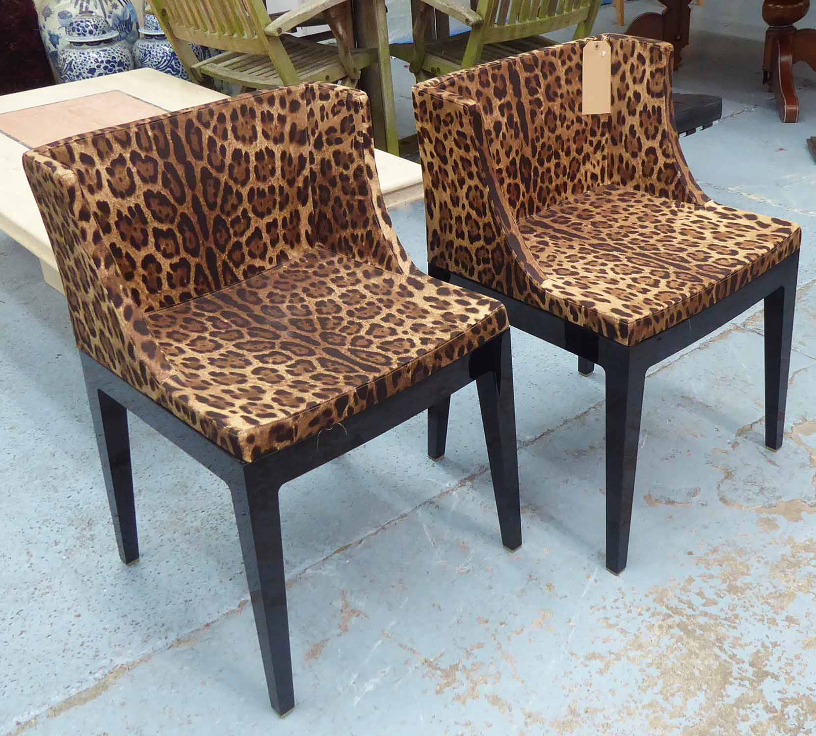 Lot 1 - KARTELL WITH DOLCE & GABBANA MADEMOISELLE CHAIRS. a pair, by Philippe Starck, 75cm H.