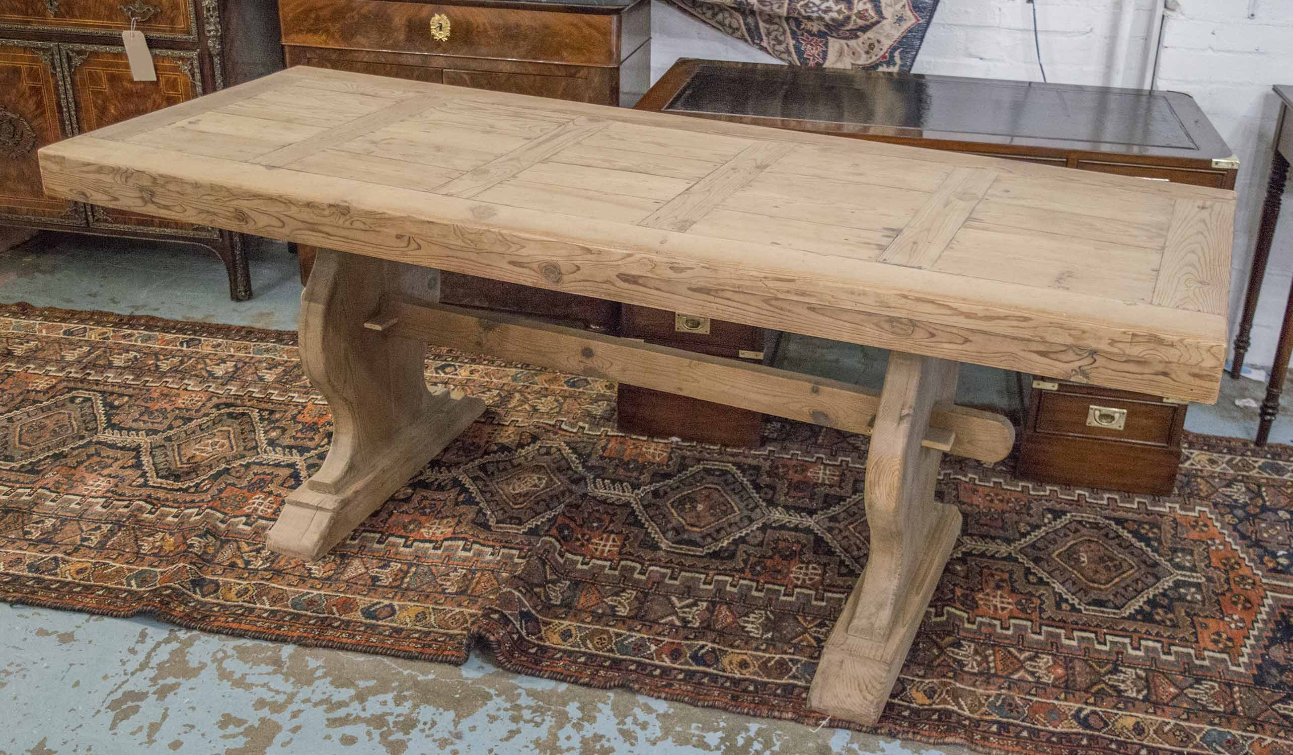 Lot 39 - REFECTORY TABLE,