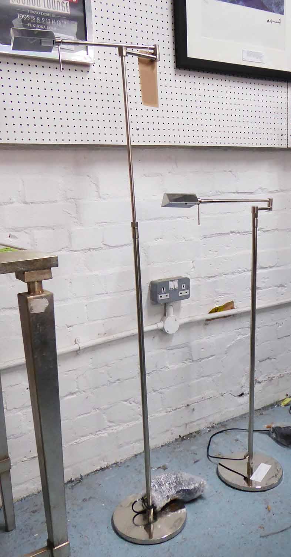 Lot 2 - WILLIAM YEOWARD ROOF TOP FLOOR LAMPS, a pair, 127cm H.
