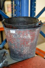 Lot 115 - 2 OLD FIRE BUCKETS
