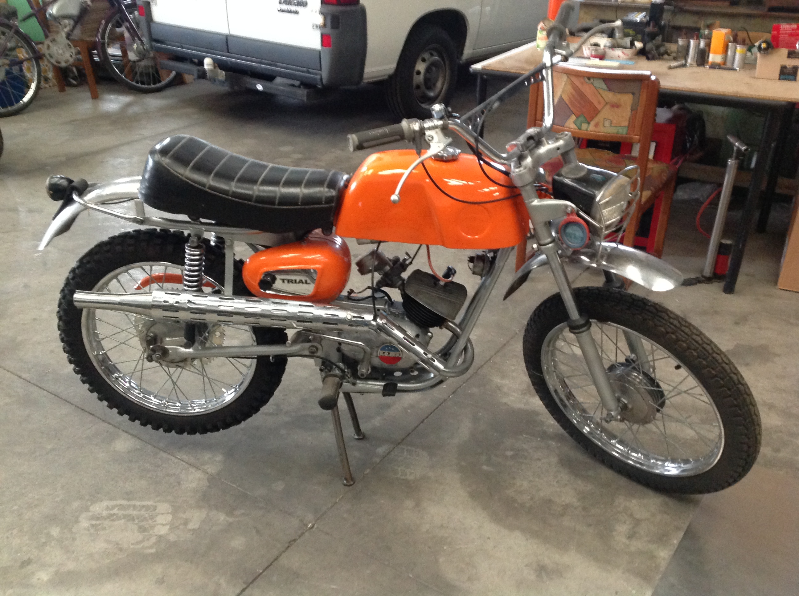 Lot 40 - BENELLI 50 TRIAL