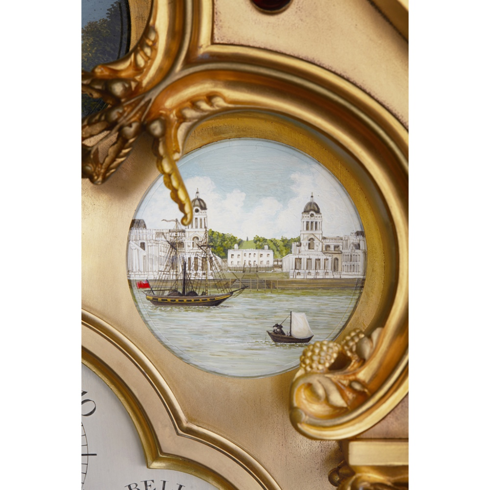 LARGE AND IMPRESSIVE GOTHIC REVIVAL CHIMING CLOCK BY BENJAMIN LEWIS VULLIAMY, LONDONCIRCA 1840 the - Image 8 of 13