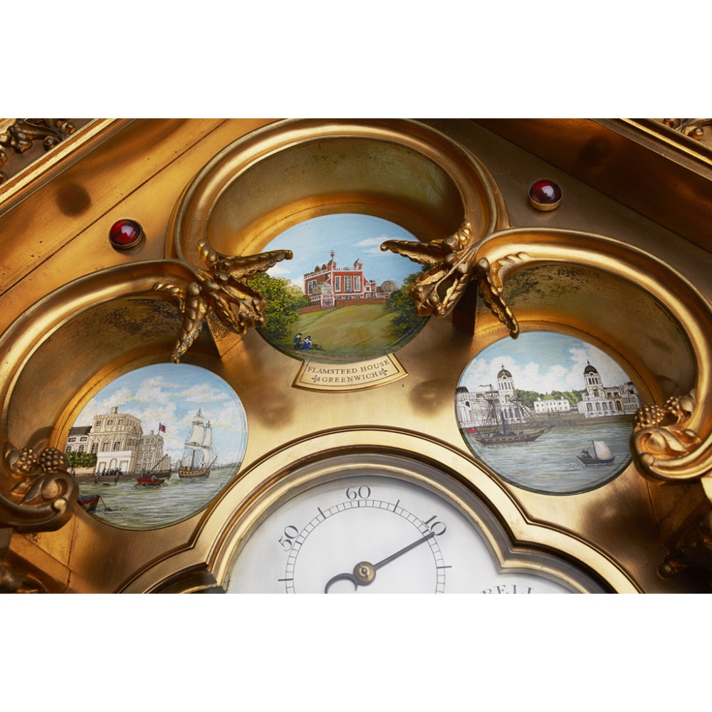 LARGE AND IMPRESSIVE GOTHIC REVIVAL CHIMING CLOCK BY BENJAMIN LEWIS VULLIAMY, LONDONCIRCA 1840 the - Image 11 of 13