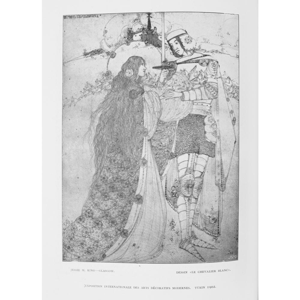 Lot 19 - KOCH, ALEXANDER - GEORG FUCHS - F.H. NEWBERYL'EXPOSITION INTERNATIONALE DES ARTS DÉCORATIFS MODERNES