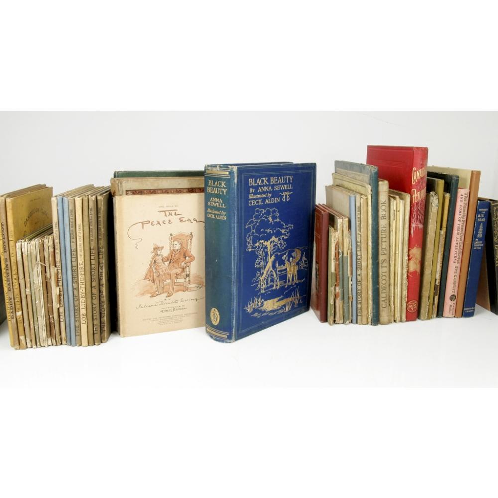 Lot 54 - ANNA SEWELL, KATE GREENAWAY, CECIL ALDIN AND OTHERS62 CHILDREN'S BOOKS Aldin, Cecil Black Beauty. [