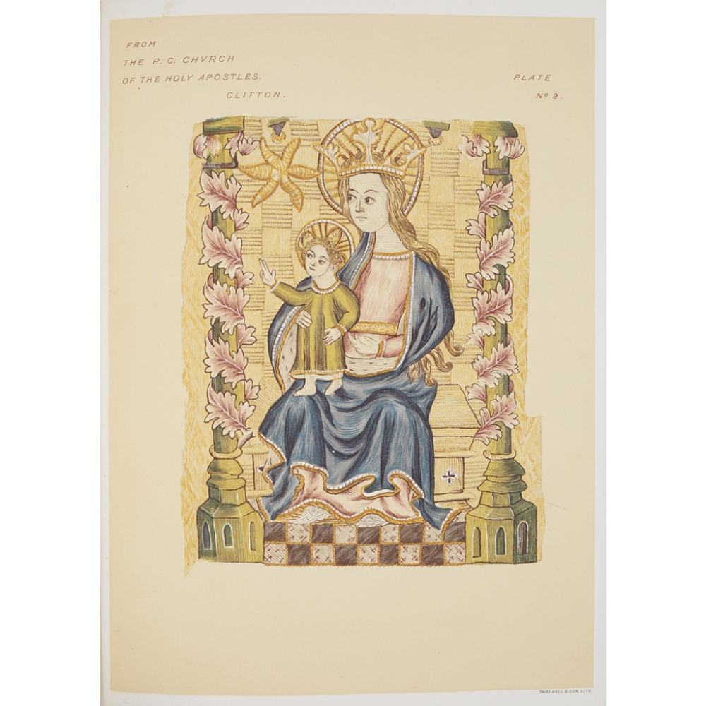 Lot 7 - EMBROIDERY, & OTHERS, COMPRISINGBARBER, MARY. SOME DRAWINGS OF ANCIENT EMBROIDERY. THIRTY