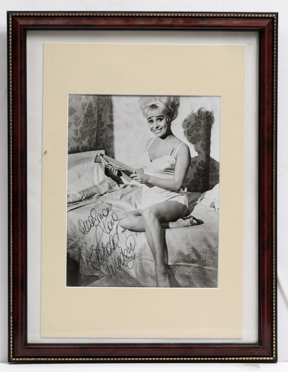Lot 27 - SIGNATURES AND PHOTOGRAPHS RELATING TO THE 'CARRY ON' FILMS to include: Barbara Windsor, Joan