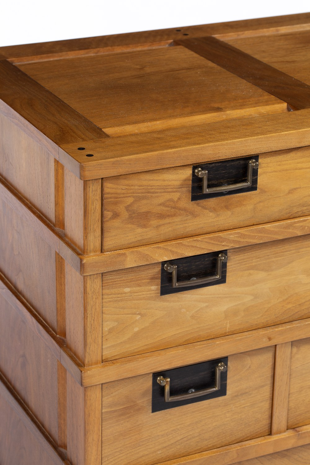 Lot 84 - Alan Peters OBE (1933 - 2009) Korean/Japanese style chest of drawers 1982/1983 thirteen drawers on