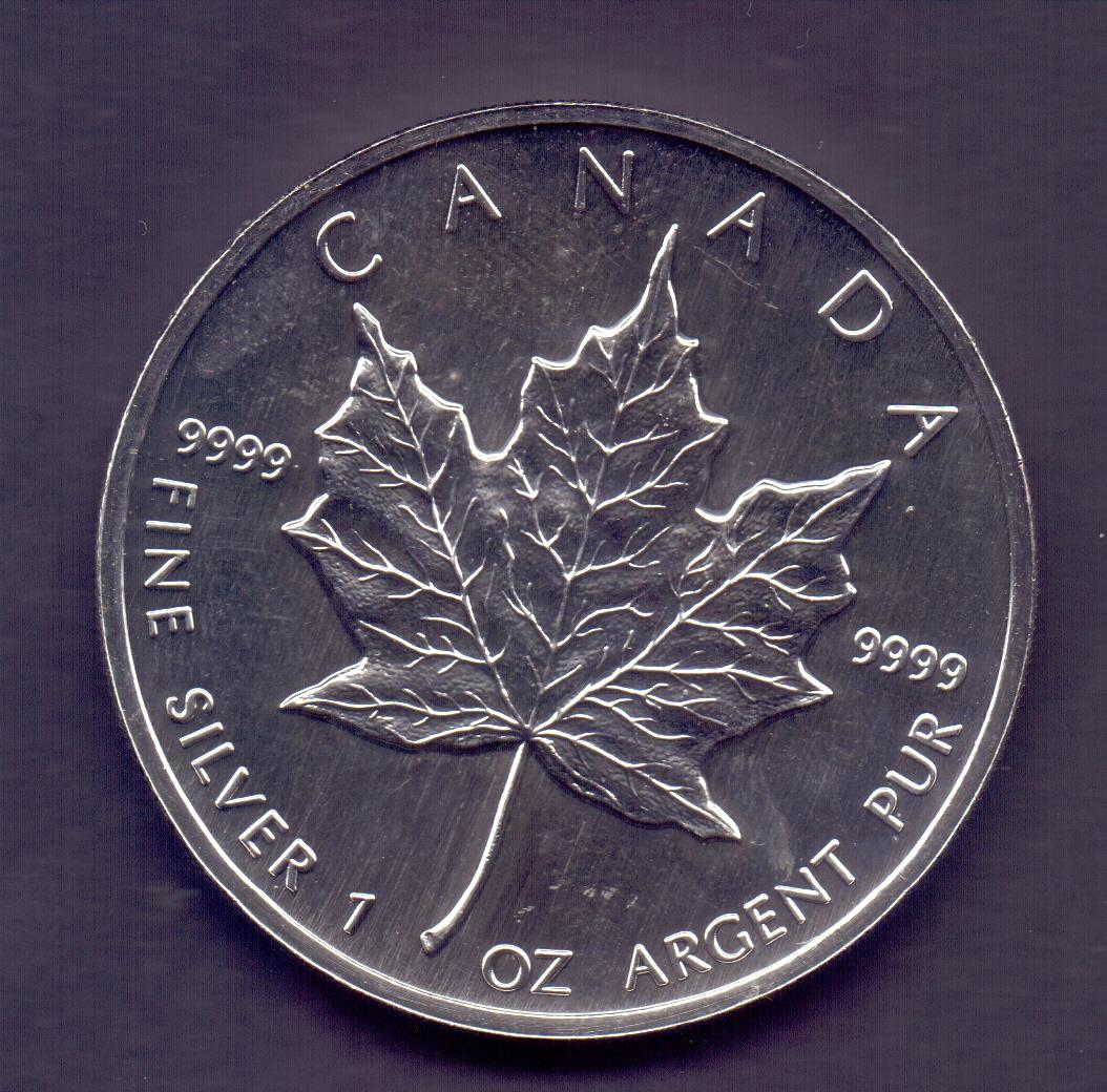 Lot 142 - COINS : CANADA 1995 $5 Maple Leaf 1oz fi
