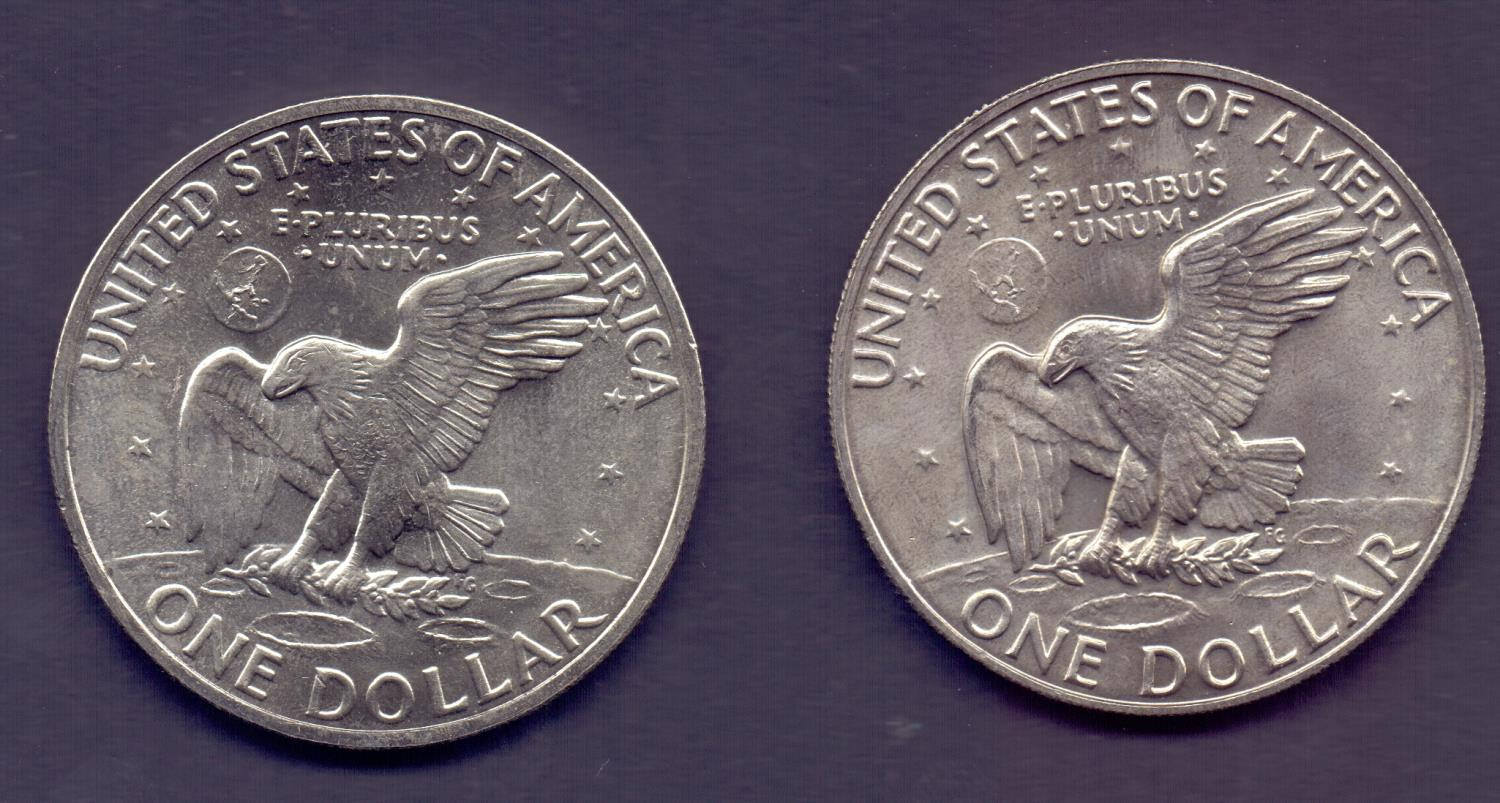 Lot 90 - COINS : 1971, 1972 and 1973 USA Eisenhow