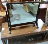 Lot 210 - A 1960s 'Long John' coffee table and a dressing table mirror