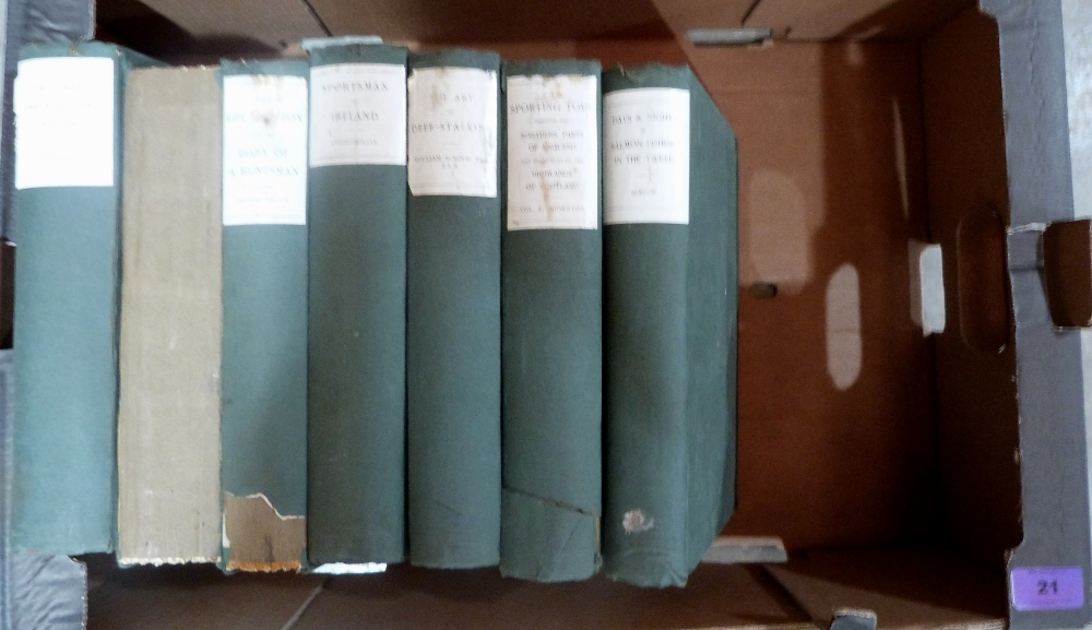 Lot 21 - Seven Sportsman's Library country sports volumes
