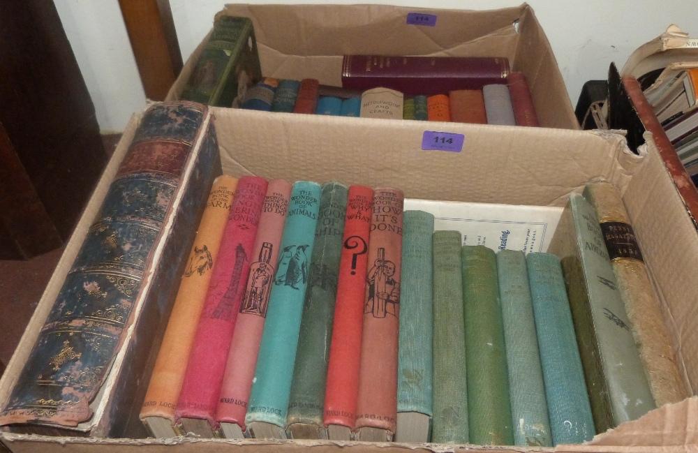 Lot 114 - A quantity of books