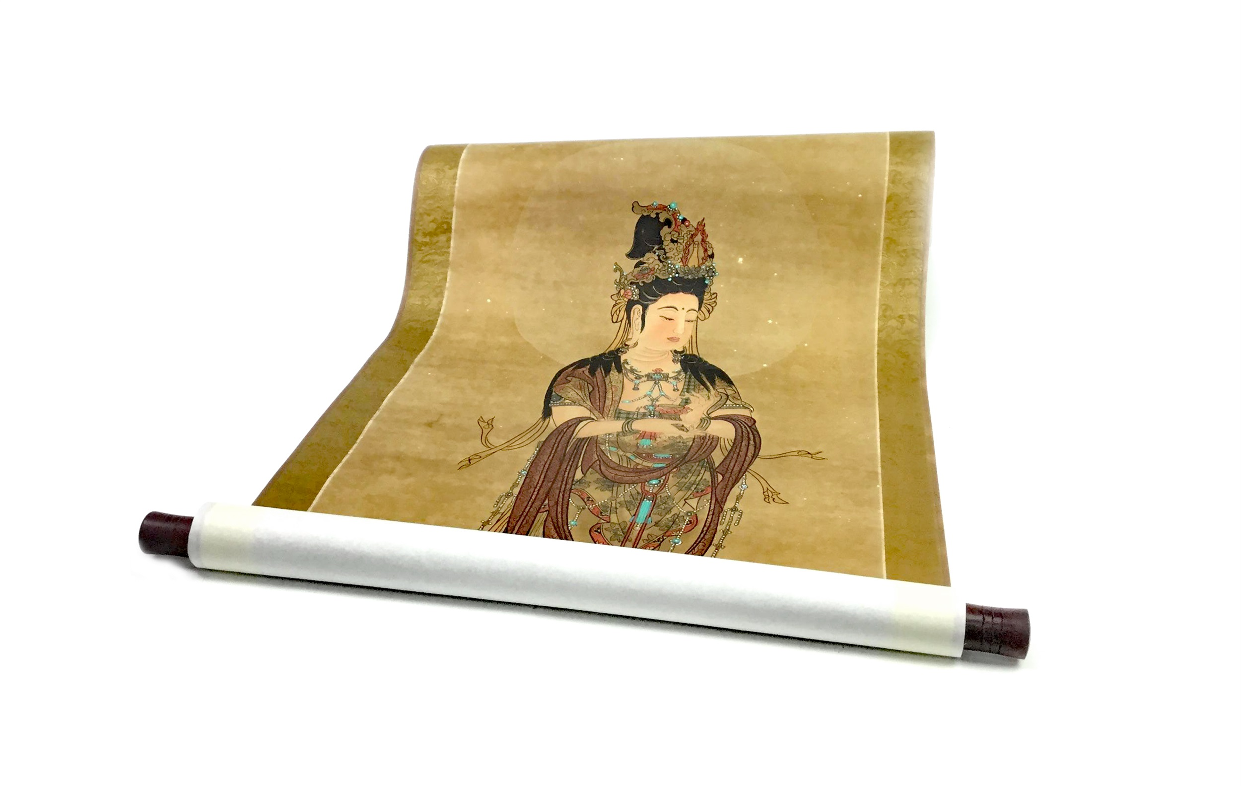 Lot 1120 - A CHINESE SCROLL PAINTING