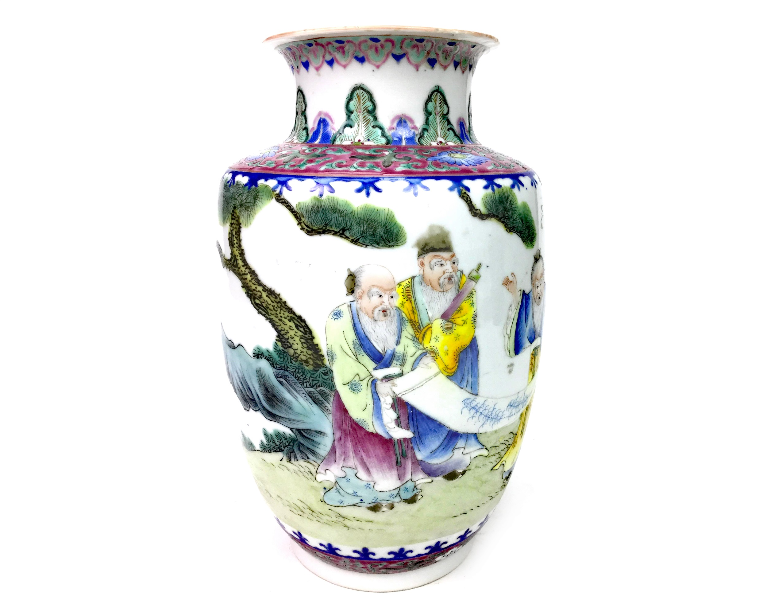 Lot 1138 - AN EARLY 20TH CENTURY CHINESE VASE