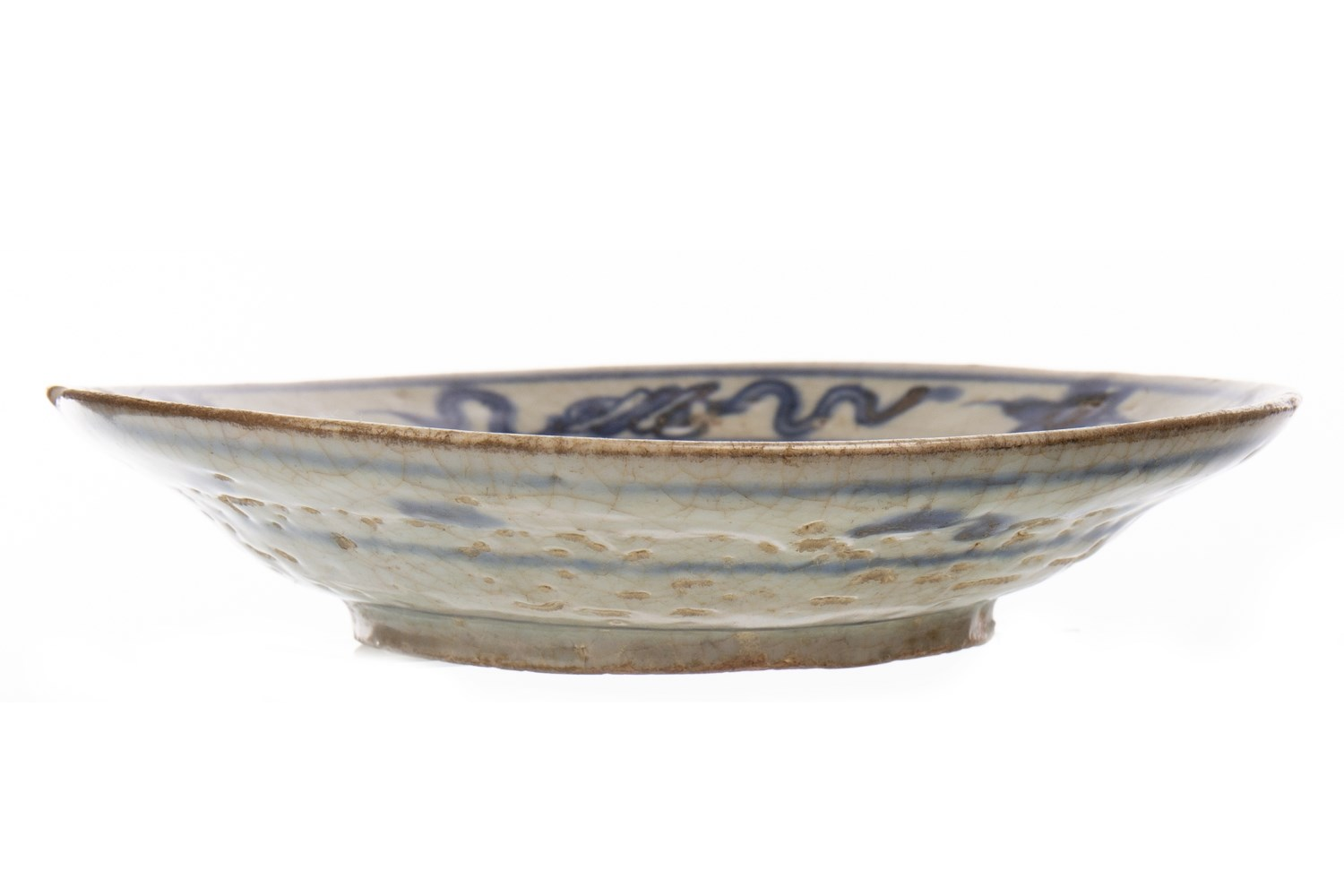 Lot 1061 - AN EARLY CHINESE DISH