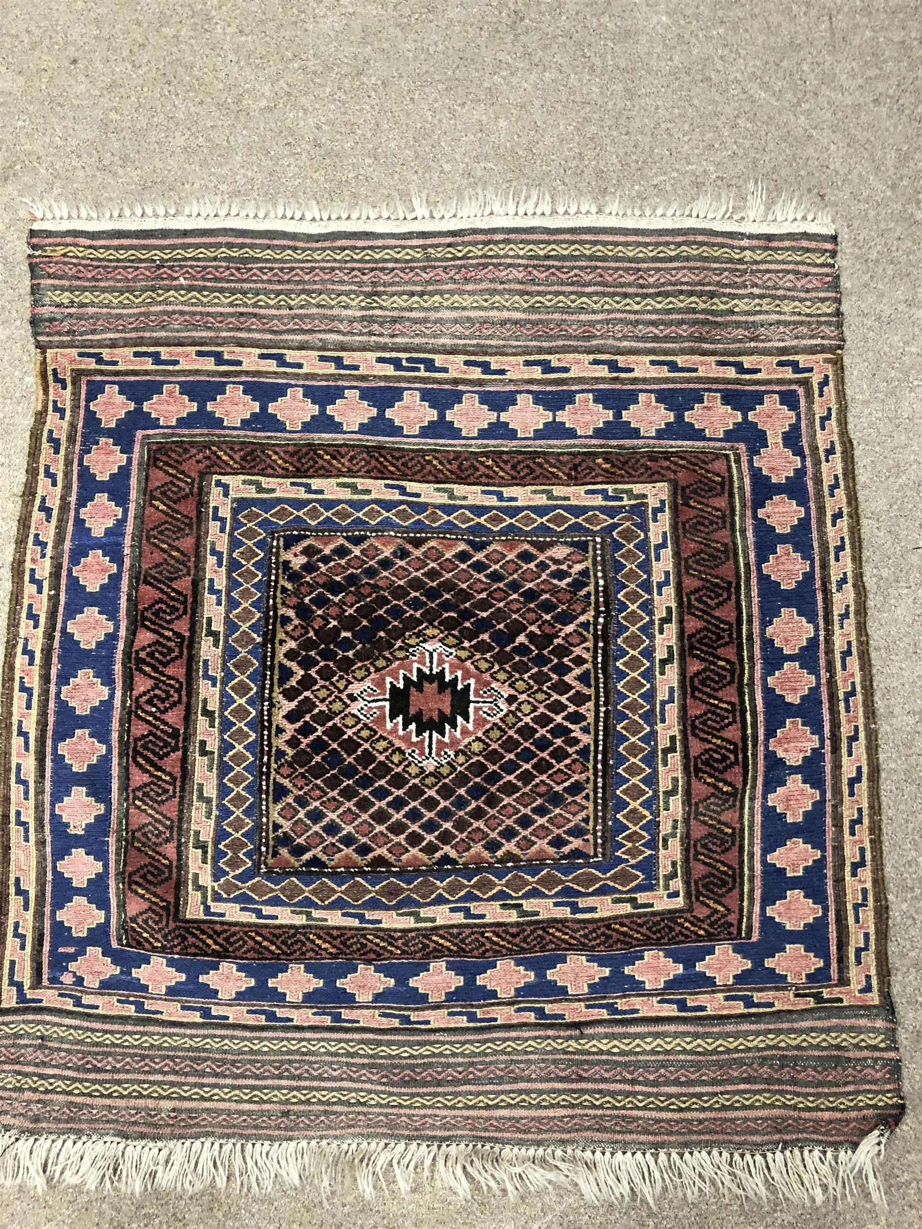 Lot 1094 - A LOT OF THREE SQUARE EASTERN RUGS