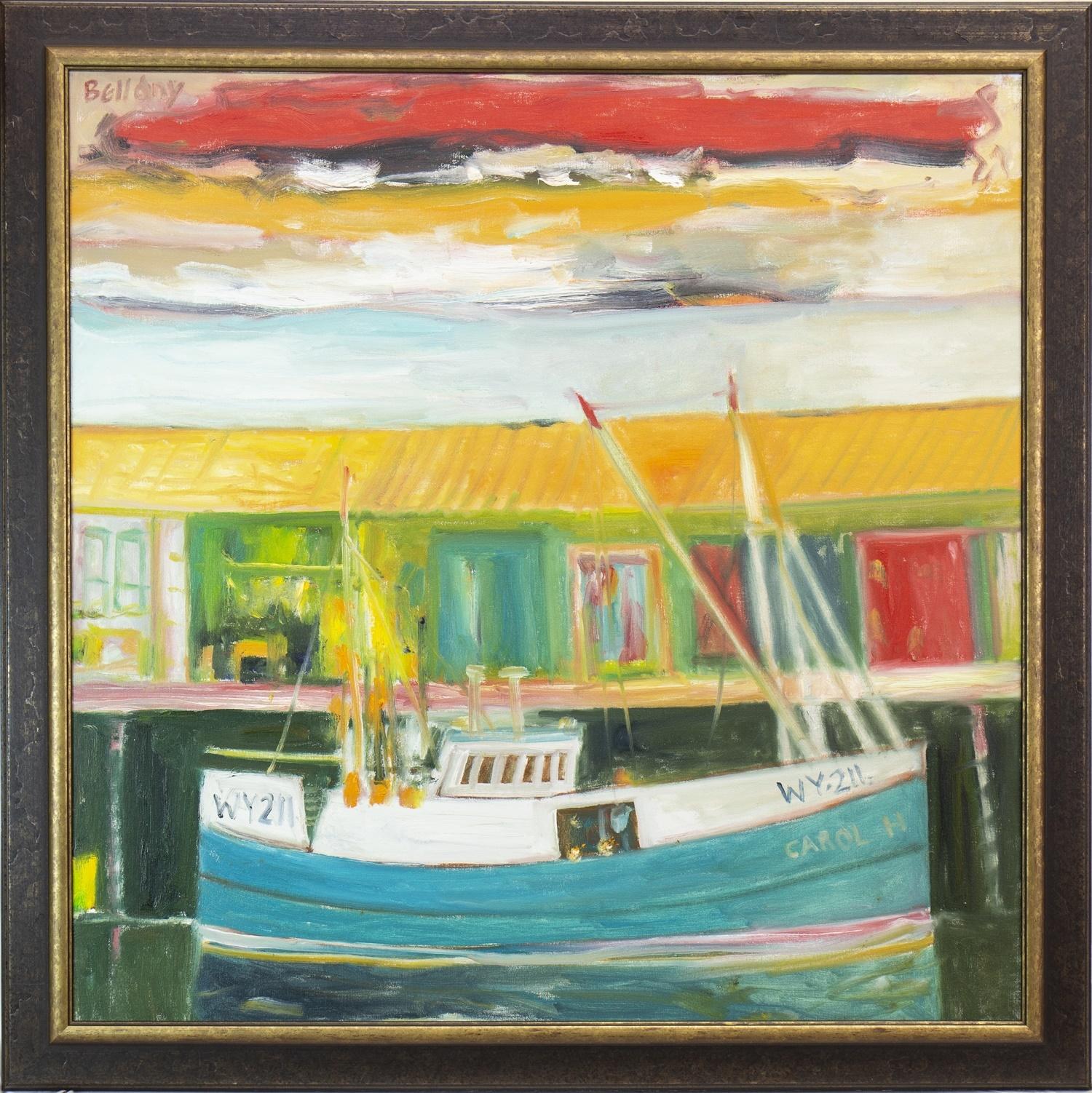 Lot 556 - CAROL, WY211, AN OIL BY JOHN BELLANY