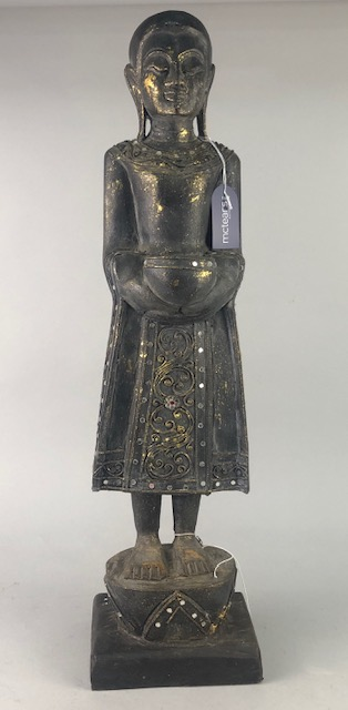 Lot 277 - AN ASIAN FIGURE OF A BUDDHA