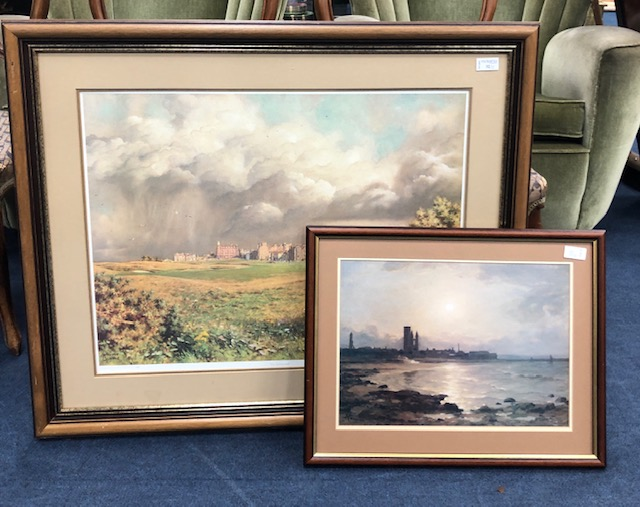 Lot 196 - THE SEVENTEENTH, A SIGNED PRINT AFTER WILLIAM BINNIE, AND ANOTHER