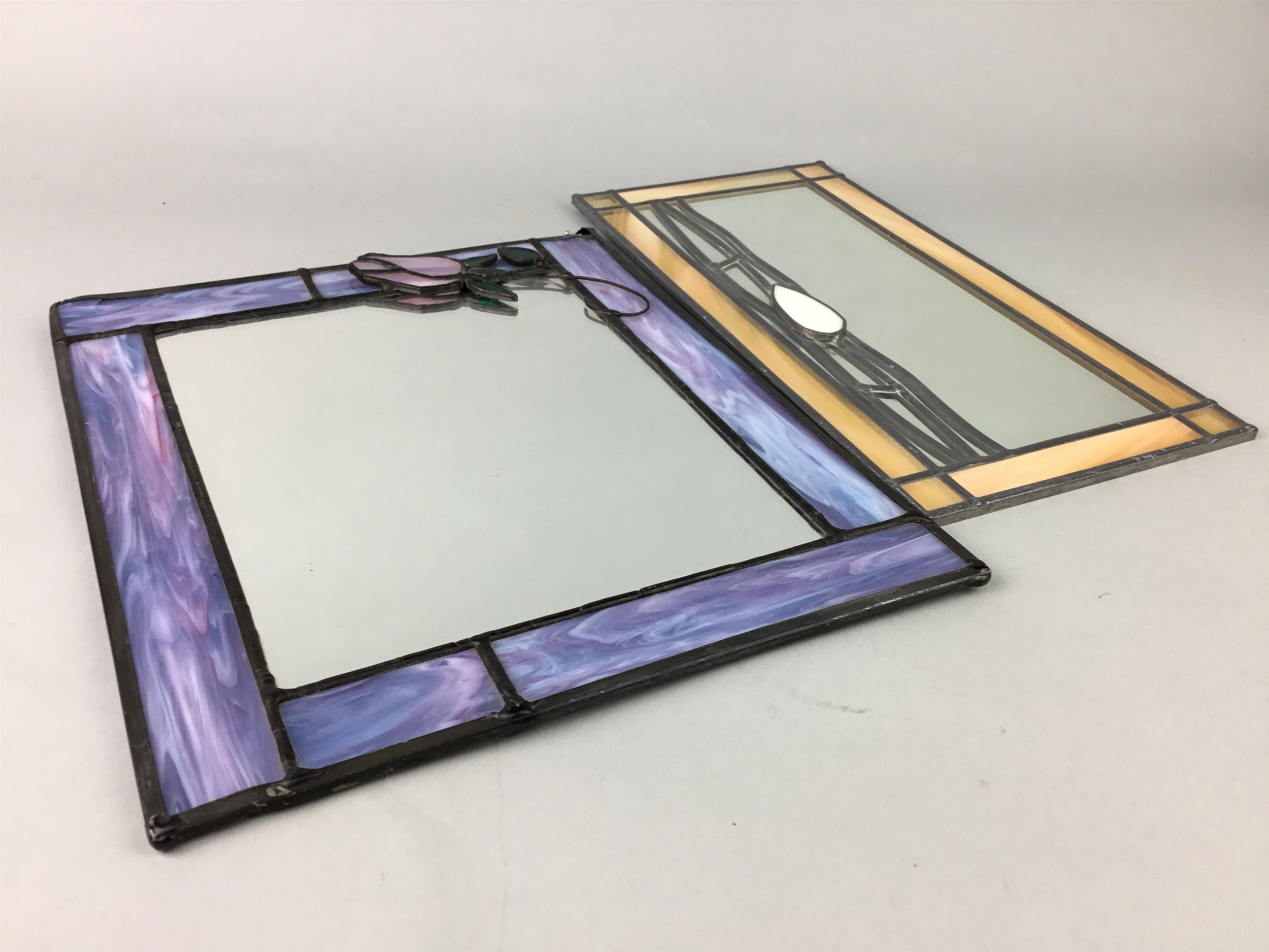 Lot 91 - A LOT OF THREE MIRRORS
