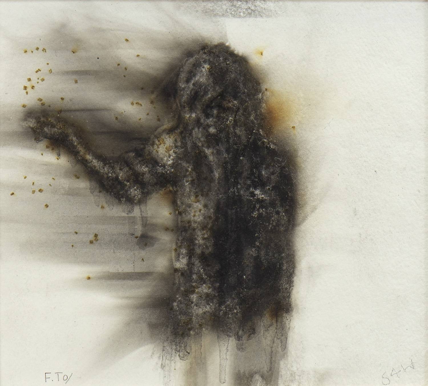 Lot 44 - THE WIZARD, A MIXED MEDIA BY FRANK TO
