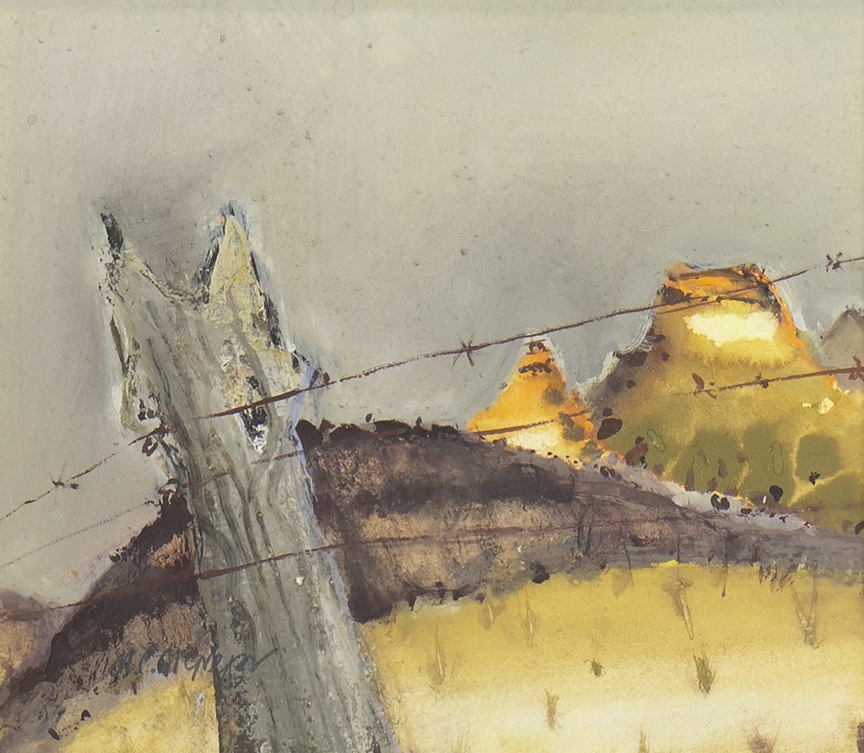 Lot 11 - MOOLOOLOO HOMESTEAD, SA, A GOUACHE BY MHAIRI MCGREGOR