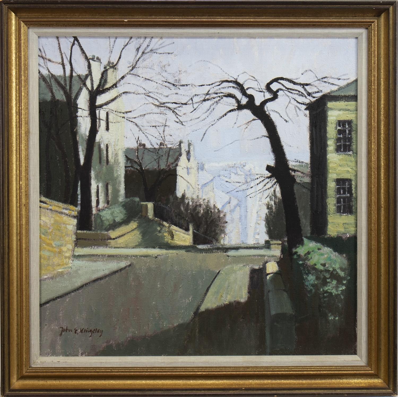 Lot 3 - GIBSON STREET, HILLHEAD, GLASGOW, AN OIL BY JOHN KINGSLEY