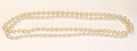 Endlos Perlenkette, L 102 cm