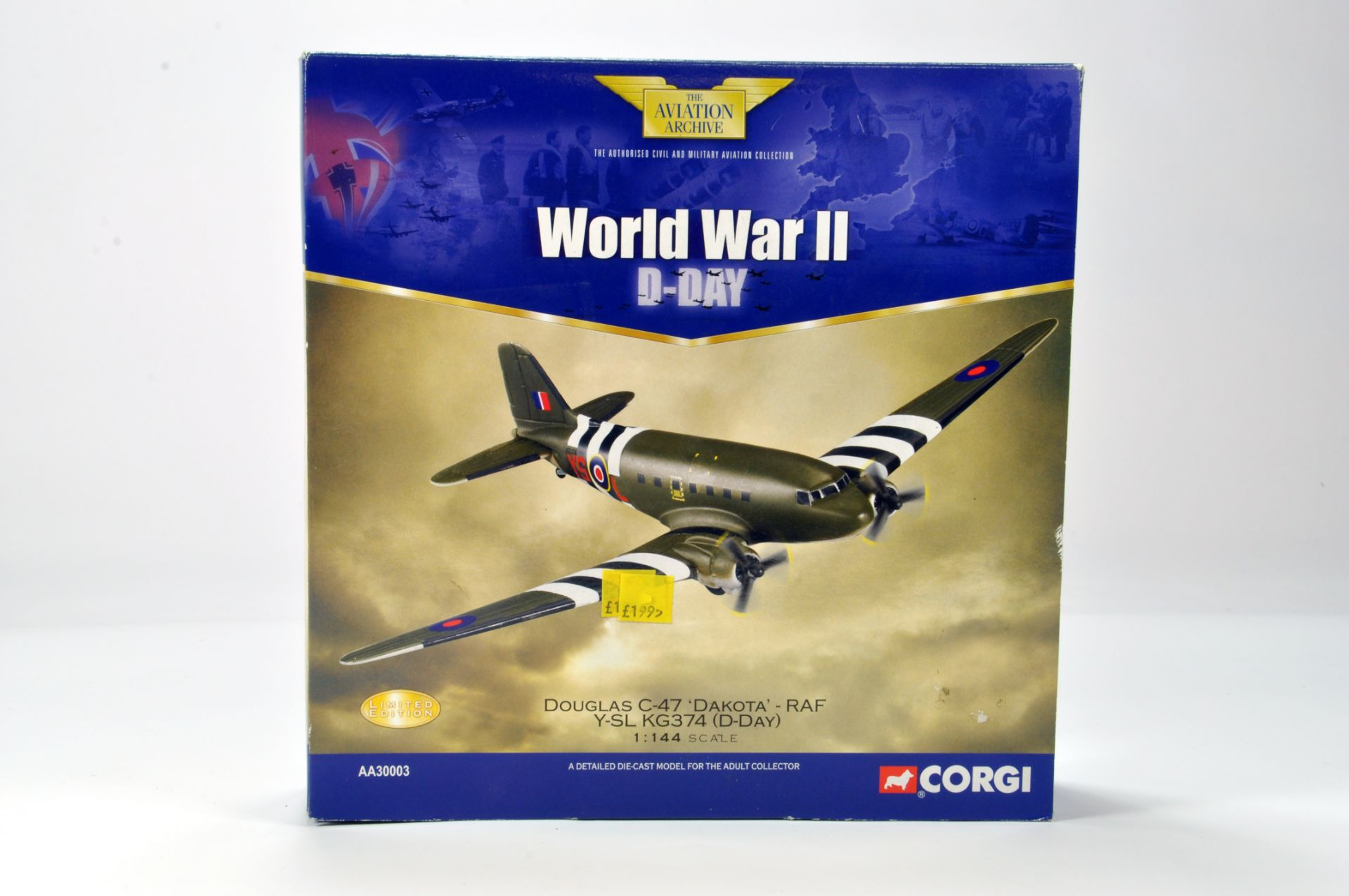Corgi 1/144 Diecast Aircraft Aviation Archive No  AA30003