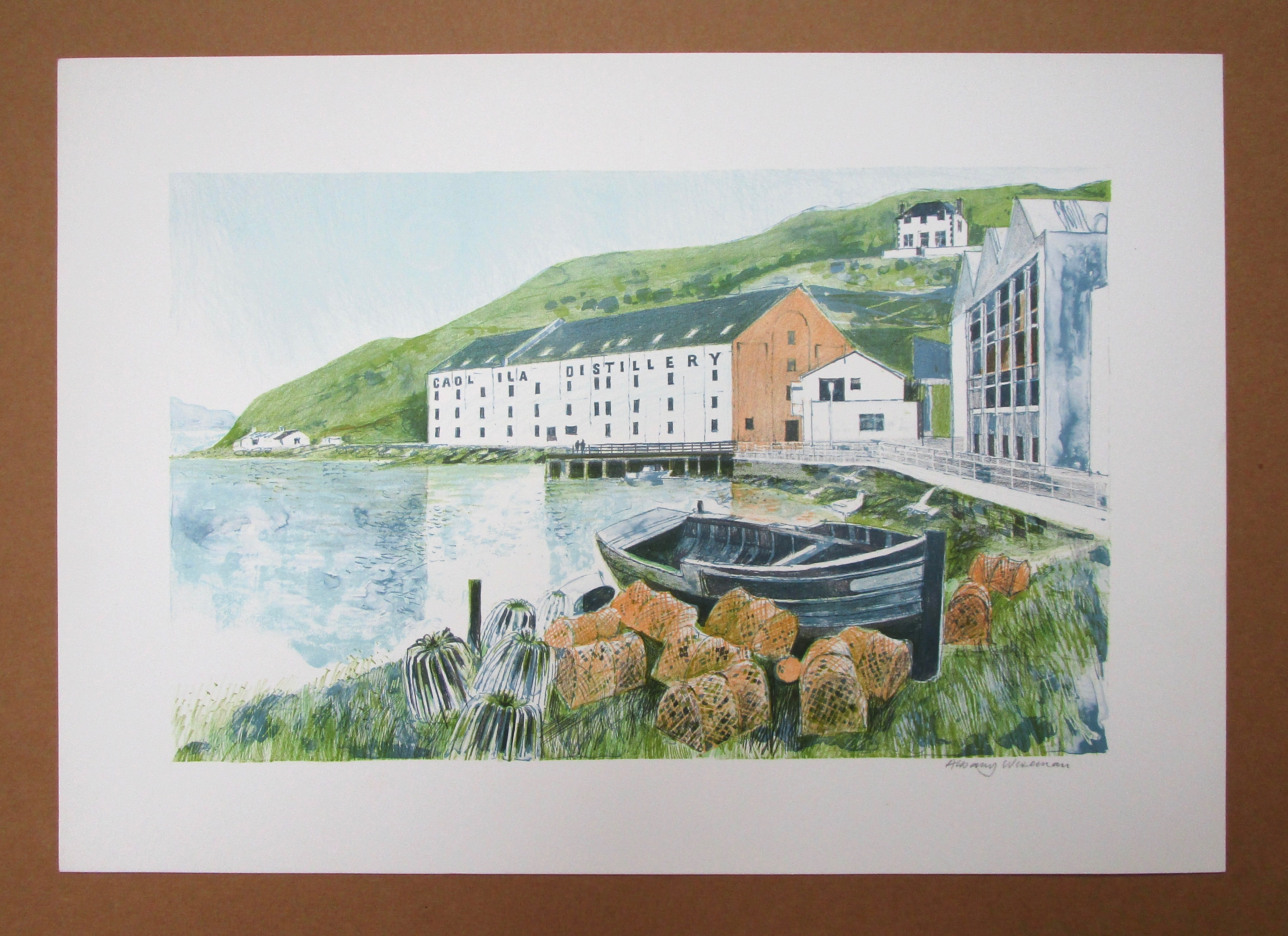 Lot 21 - ALBANY WISEMAN [b. 1930] A collection of six lithographs c.1980.three different images from the