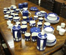 """A T G Green Limited """"Channel Isles Collection"""" of dinner and tea wares including cups, saucers,"""