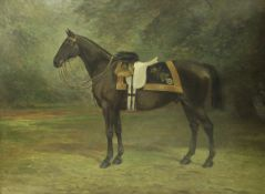 """WILLIAM JOSIAH REDWORTH (1873-1947) """"An Officer's Charger of the Life Guards"""","""