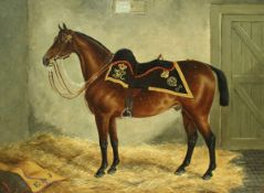 """J. QUINTON """"5th Dragoon Guards Charger ridden by Captain E. A."""