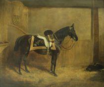 "JAMES WHEELER of Bath (1820-1885) ""1st Life Guards 1875"","