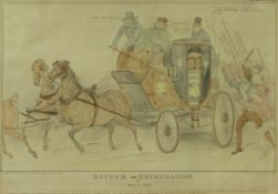 """AFTER JOHN DOYLE (1797-1868) """"Reform and Reformation or which is which?"""", a satirical study,"""