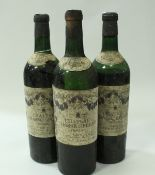 Chateau Chasse Spleen (Moulis) bottled by Justerini & Brooks 1958 x 10