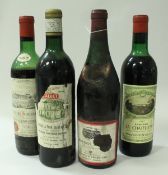 Bonnes Mares Grand Vin de Bourgogne Saccone & Speed Limited 1962 x 1,