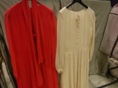 Two mid-20th Century vintage Dior dresses,